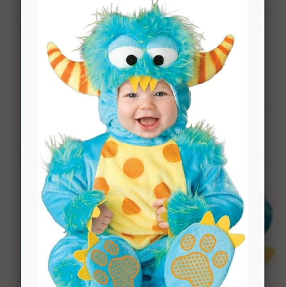 little monster halloween costume 12 18 month